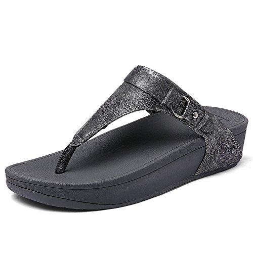 Da Flessuoso Spiaggia Aumentare Scarpe Sandali Eu Grey Slittata Pantofole 5 All'aperto Ammortizzazione Moda 38 Zhang2 5 Uk uk55eu38 qxv5zwIf