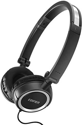 Edifier H650 Headphones – Hi-Fi On-Ear Foldable Noise-Isolating Stereo Headphone, Ultralight and Tri-fold Portable – Black