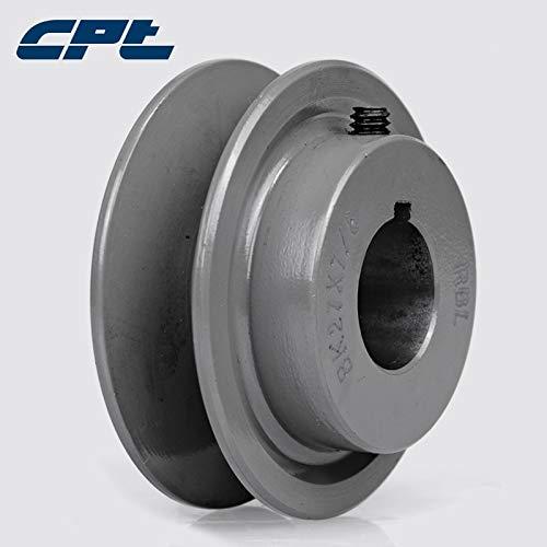 Ochoos CPT BK27 v Belt Pulley sheave, Cast Iron, B Belt Section, 1 Groove, Bore 1/2