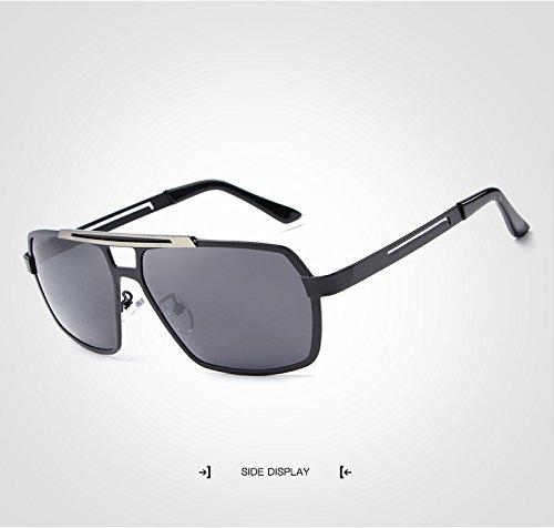 Gafas Tan Baianf de para polarizadas Hombres Gafas Casual polarizadoras Gunes Sol Fresco con Hombres Color Gafas Conducción Golden GP Black Moto Gozlogo ZrwxCqrt