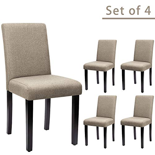 Furniwell Dining Chairs Fabric