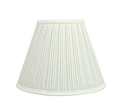 Aspen Creative Transitional Pleated Empire Shape Uno Construction Lamp