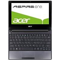Acer Aspire one D255E 25,65 cm (10,1 Zoll) Netbook (Intel Atom N455, 1,6 GHz, 1GB RAM, 250GB HDD, Intel 3150, Bluetooth, Win 7 Starter) schwarz