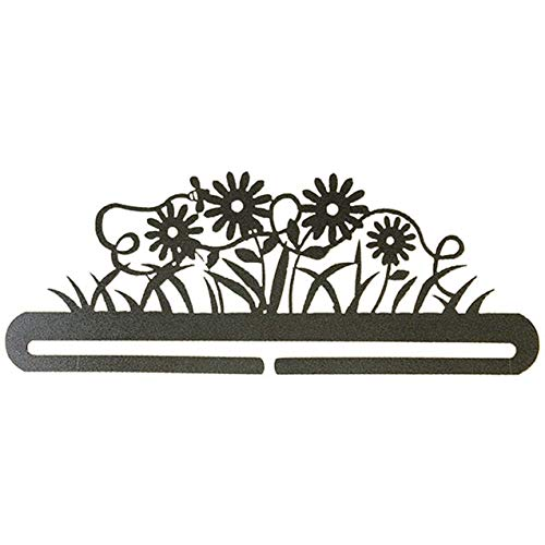 - 12in Daisy and Bee Split Bottom Charcoal