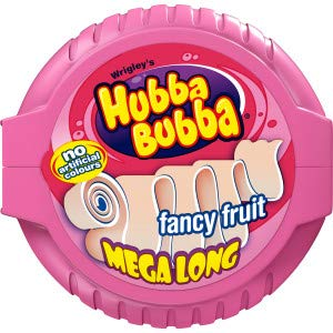 WRIGLEY'S HUBBA BUBBA FANCY FRUIT MEGA LONG TAPE (Pack of - Wrigleys Tape Bubble