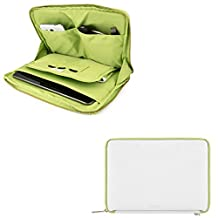 10.1-Inch Tablet Sleeve Pouch Bag Carrying Case for Acer Iconia One 10 / Iconia Tab 10 / Alcatel One Touch PIXI 3 10 / Apple iPad Pro 10.5 / Asus Transformer Book / Transformer Mini (White)