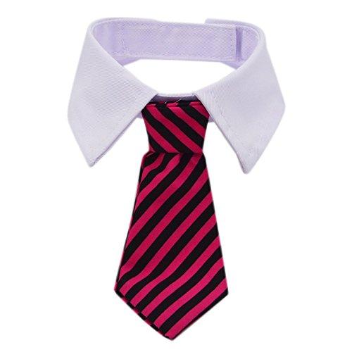 Kailian reg; Cosplay Anmaßender CEO Streifen Baumwolle Krawatte Kleine Hunde Katzen Welpe Individuelle Krawatte