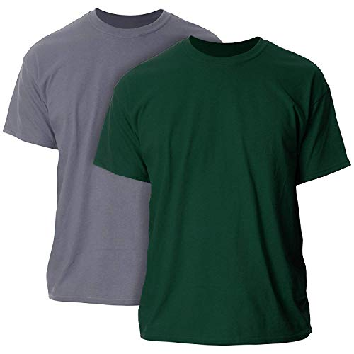 - Gildan Men's Ultra Cotton Adult T-Shirt, 2-Pack
