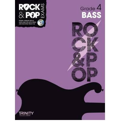 Read Online Trinity Rock & Pop Bass Grade 4 (Trinity Rock & Pop) (Mixed media product) - Common PDF