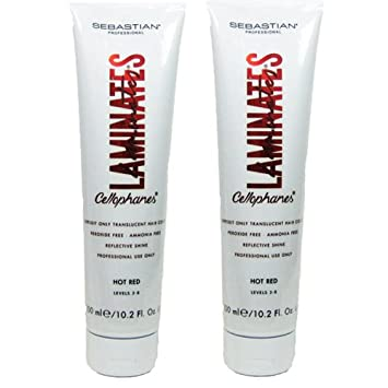 Amazon Sebastian Cellophanes Hair Color Hot Red Pack Of 2
