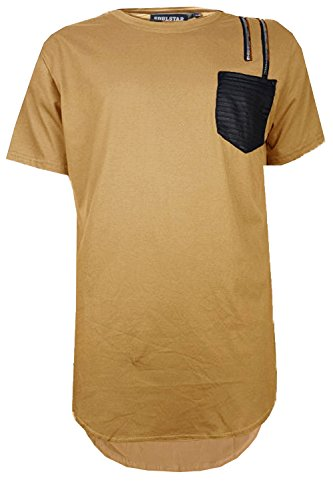 TShirt SoulStar Blusen braun Medium Gr. cm Brust, Camel Brown