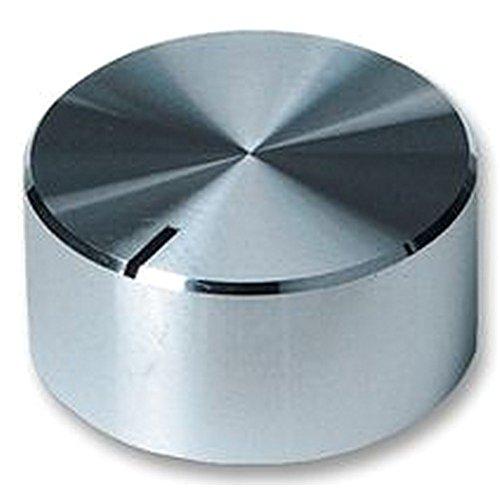 Knauf Aluminium gesponnen 32/ mm Kn/ö pfe Kn/ö pfe/ /– / Knauf, Aluminium, gesponnen, 32/ mm, Knopf, Durchmesser: 32/ mm, Schaft Durchmesser: 6,35/ mm, externe Tiefe: 14/ mm, Material: Aluminium, Spindel Durc