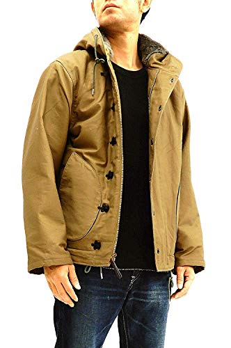 Buzz rickson's Men's Hook-Front N-1 Parka Deck Jacket, used for sale  Delivered anywhere in USA