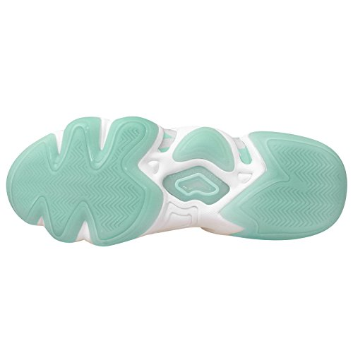 Adidas Crazy 8, Blanco / frozenmint / glaciar Grey, 9 M US White Mint