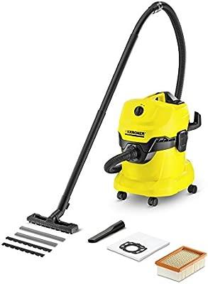 Amazon.com: Karcher WD4 aspiradora para agua y polvo ...