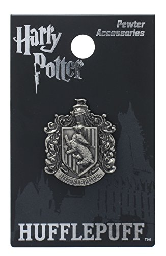Harry Potter Hufflepuff School Crest Pewter Lapel Pin ()