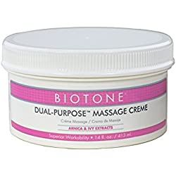 Biotone Biotone Dual Purpose Massage Cream - 14 Ounce Jar