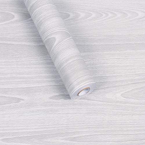 壁紙シール 木目調 3D DIY ウォールステッカー はがせる 45cm×10M (炭)