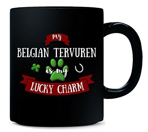 My Belgian Tervuren Is My Lucky Charm Custom Dog Owner Gift - Mug