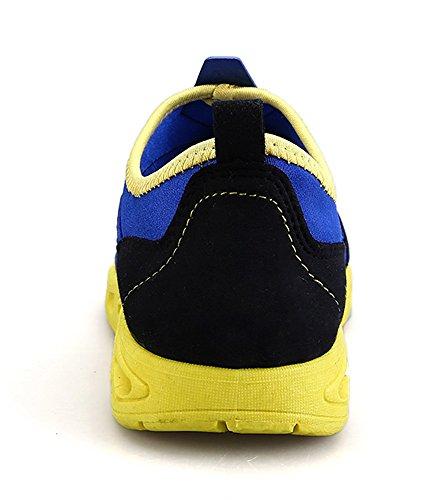 Sportive Gaatpot Giallo Blu Scarpe Ginnastica da Donna Mesh Sneakers Running Traspirante wYqwZ6r
