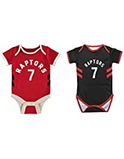 Lowry #7 Raptors Home/Away Baby Infant and Toddler Basketball Onesie Romper Premium Quality