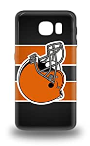 Galaxy Design High Quality NFL Cleveland Browns Logo Cover 3D PC Case With Excellent Style For Galaxy S6 ( Custom Picture iPhone 6, iPhone 6 PLUS, iPhone 5, iPhone 5S, iPhone 5C, iPhone 4, iPhone 4S,Galaxy S6,Galaxy S5,Galaxy S4,Galaxy S3,Note 3,iPad Mini-Mini 2,iPad Air )