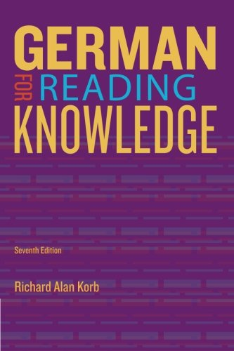 German F/Reading Knowledge