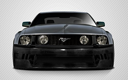 2005-2009 Ford Mustang Carbon Creations Hot Wheels Wide Body Front Bumper Cover - 1 ()