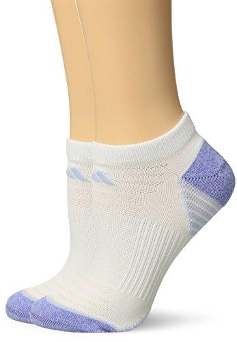 adidas Womens Superlite Speed Mesh No Show Socks (2 Pack)