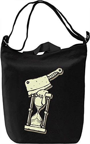 Killing time Borsa Giornaliera Canvas Canvas Day Bag| 100% Premium Cotton Canvas| DTG Printing|