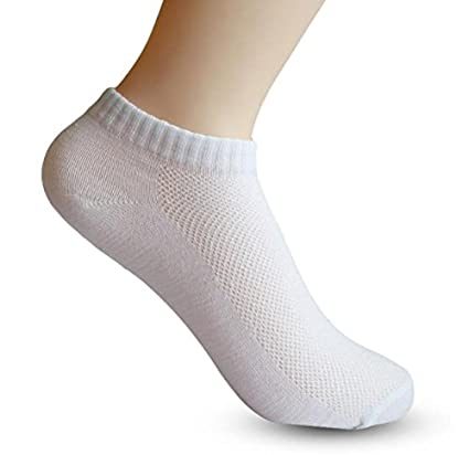 5pair Men Socks Brand Quality Polyester Casual Breathable 3 Pure Colors Socks Calcetines Mesh Short Boat