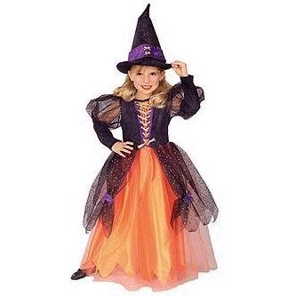 Girls 'Pretty Witch' Halloween Costume