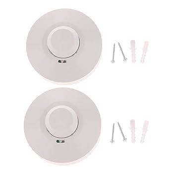Sharplace 2x Interruptor de Control de Luz Detector de Movimiento de Cuerpo Humamo para Pasillo Baño: Amazon.es: Bricolaje y herramientas