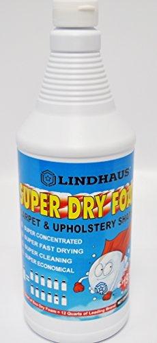 Lindhaus Super Dry Foam Organic Encapsulation Carpet, Rug and upholstery Shampoo