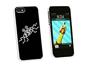 Graphics and More FSM Flying Spaghetti Monster Snap-On Hard Protective Case for iPhone 5/5s - Non-Retail Packaging - White
