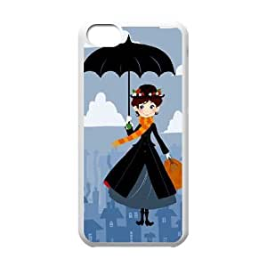 Chinese Mary Poppins Customized Phone Case for iPhone 5C,diy Chinese Mary Poppins Case