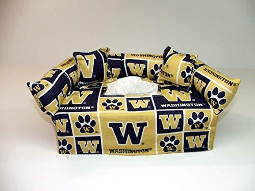 University of Washington Tissue Box cover. Includes Tissue