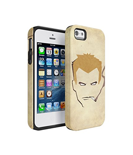 Constantine-TV-Series-Hero-2-Piece-Hard-Plastic-Shock-Absorbing-TPU-Bumper-Tough-Case-Cover-Shell-For-iPhone-5-5s