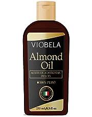 Aceite de ALMENDRAS Dulces Origen Italiano 100% PURO 250 ML…
