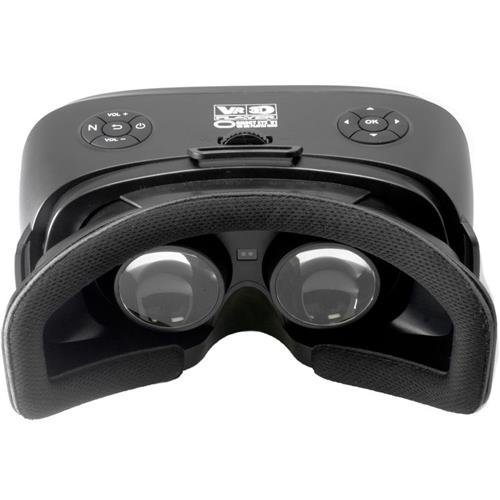 Cinegears V1 Pro VR 3D Player All-In-One HMD Quad-HD, Midnight Black