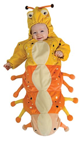 Rubie's Baby Caterpillar Costume, Newborn]()