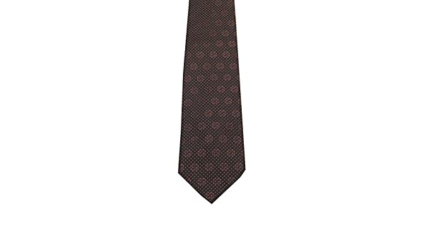 Gucci CL Brown Patterned Logo Tie: Amazon.es: Ropa y accesorios