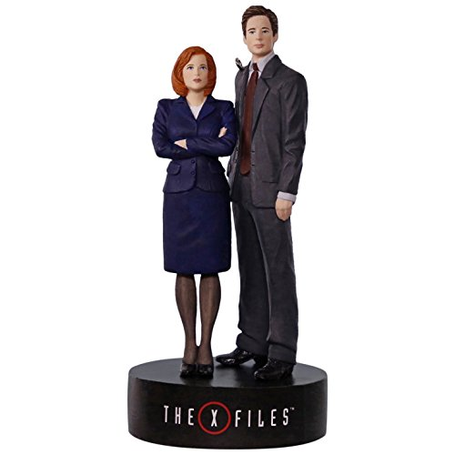 The X-Files Scully and Mulder Musical Ornament Movies & TV; Sci-Fi