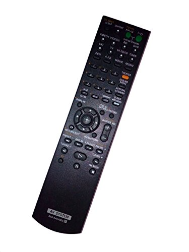 RM-AAU022 1-480-099-21 Remote Control Replaced for Sony HT-SS2300 HTDDW5000 STR-DG520 STRKM7500 HTDDWG700 Home Theater Audio/Video Receiver AV System by JustFine