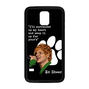 Customize Famous Singer Ed Sheeran Back Cover Case for Samsung Galaxy S5