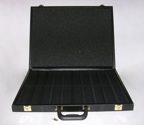 1000 Capacity Poker Chip Case by George & Company, LLC