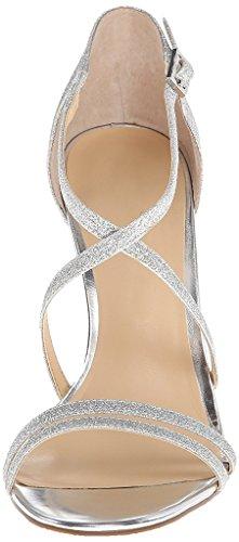 EDEFS - Zapatos con tacón Mujer plata