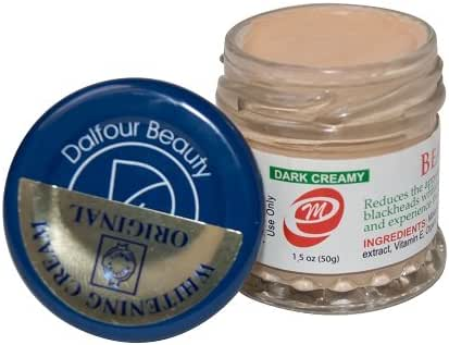 Authentic Dalfour Beauty Gold Seal Whitening Cream Red M (3 Jars)