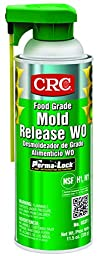 CRC Food Grade Mold Release, 11.5 oz Aerosol Can, Clear