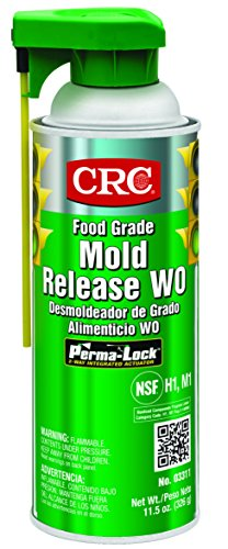 CRC Food Grade Mold Release, 11.5 oz Aerosol Can, Clear (Polycarbonate Resin)